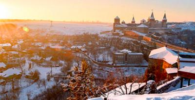 Christmas Bukovina. Chernivtsi - Kamyanets-Podilskyi