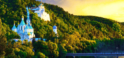Under Tabor, over the Donets. The Svyatogorsk Lavra