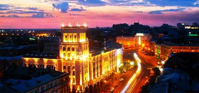 Місто запалює вогні. Вечірній романтичний Харків