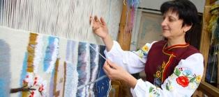 Krawędź haftów. Reshetilovka - Machuchi