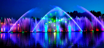 Vinnytsia fountain of emotions. Independence Day Tour 2018