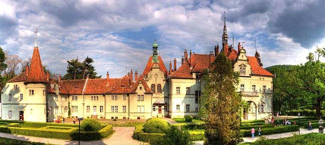 Znalezione obrazy dla zapytania Zamek Schönborn