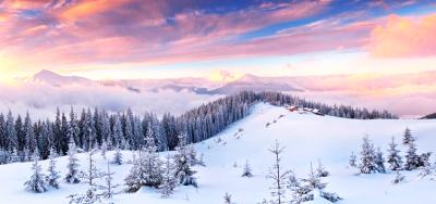 Christmas Tisza. Christmas in the Carpathians