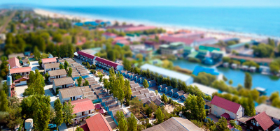 Inflow from Kharkov. Holiday Village & quot; Dawn & quot;