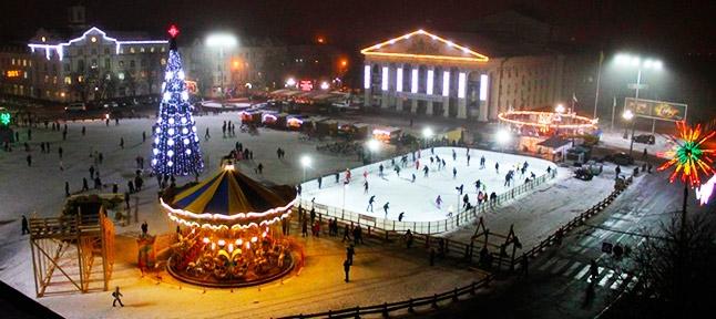 Новорічна скринька. Київ - Козелець - Чернігів - Батурин - Ніжин