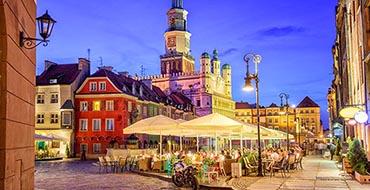 Poland Houses Evenioznan Street Street lights 536774 1280x854