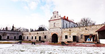 Внутренний двор Збаражский замок
