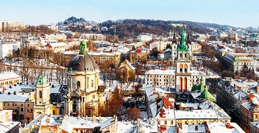 depositphotos 63128131 stock photo lviv in winter beautiful morning